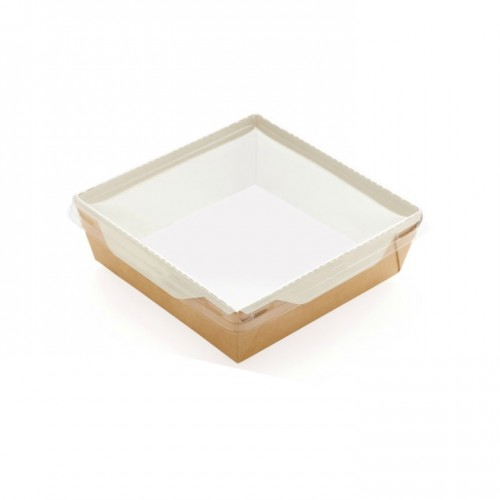 Caserola Eco Capac Transparent 800-1200 cc