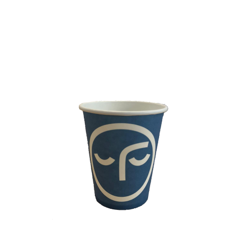 Pahare Carton Vending 6 Oz Blue Face
